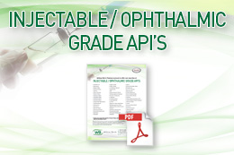Injectable Ophthalmic Grade APIs Featured Image