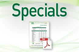 June-July 2018 Specials